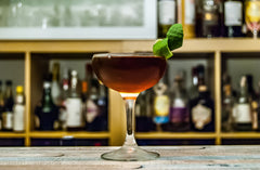 Johan Trasch Manhattan cocktail