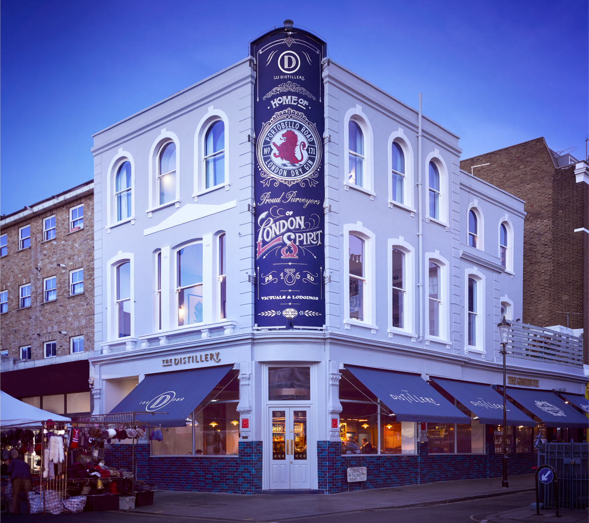 The Distillery, The Ginstitute & Portobello Road Gin – The ...