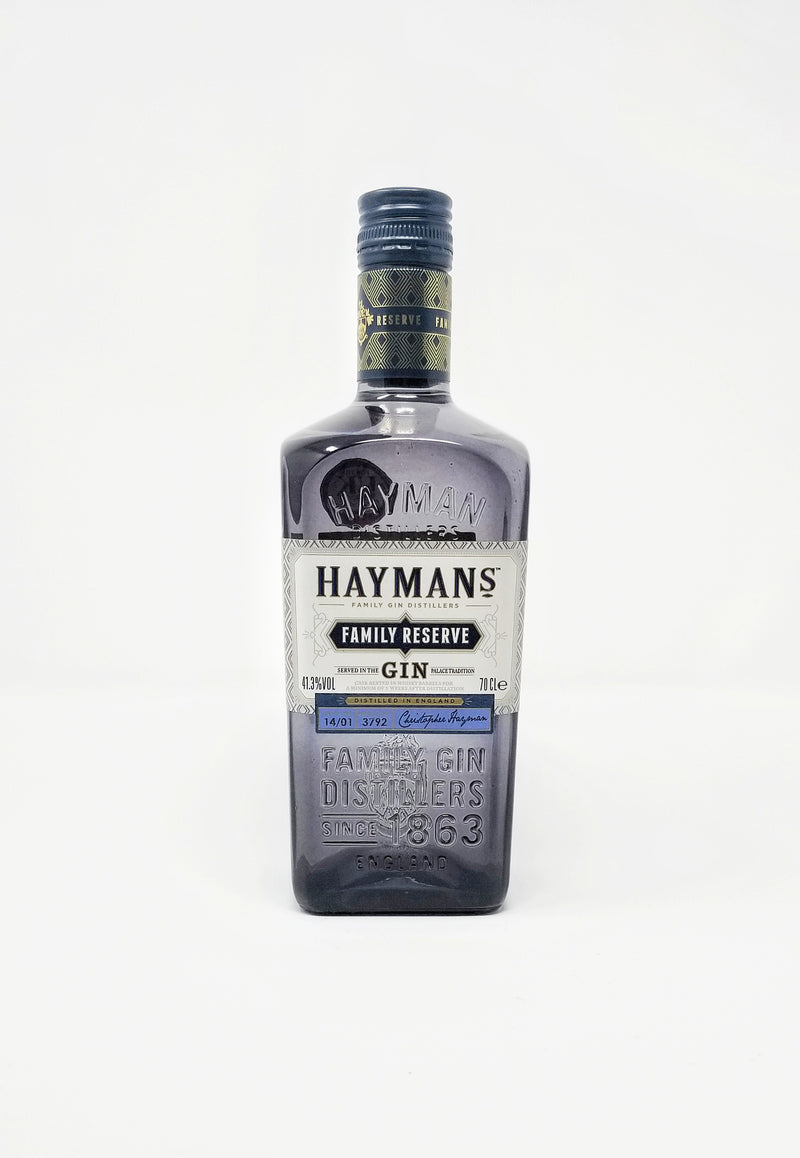 Hayman's Family Reserve Gin - The Distillery London