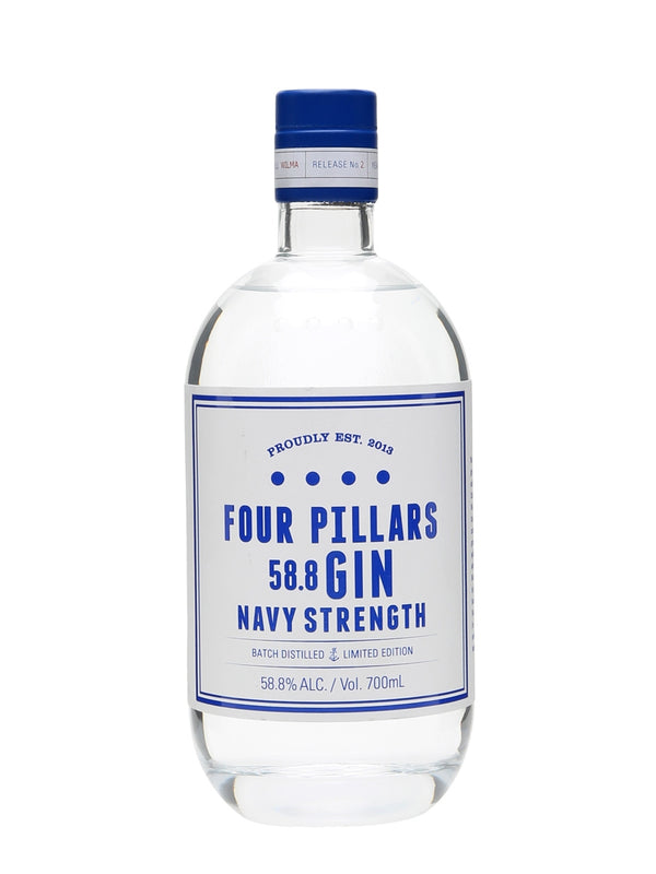 Four Pillars Navy Strength Gin - The Distillery London