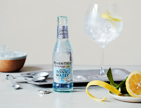 Fever-tree Light Tonic 200ml x12 - The Distillery London