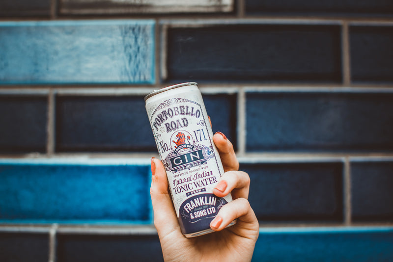 Portobello Road Gin and Franklin and Sons Tonic - Ready To Drink - The Distillery London