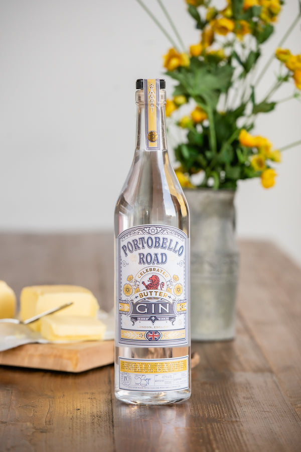 Portobello Road Celebrated Butter Gin - The Distillery London