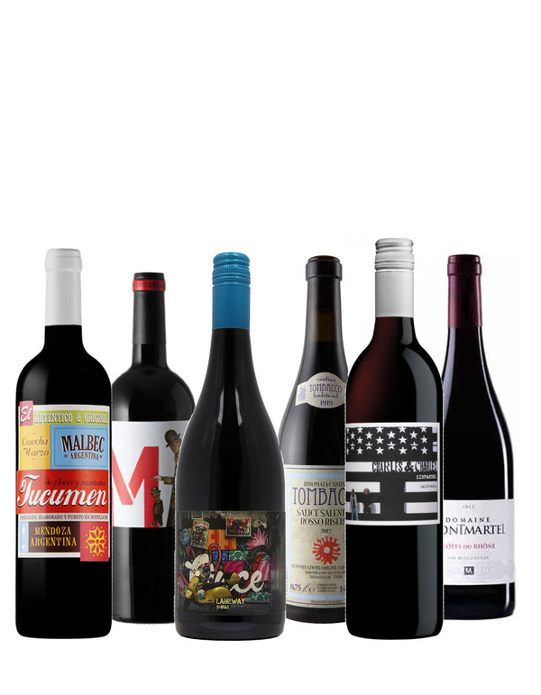 House of Wine - Bold Mixed Reds