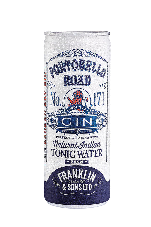 Portobello Road Gin and Franklin and Sons Tonic - Ready To Drink