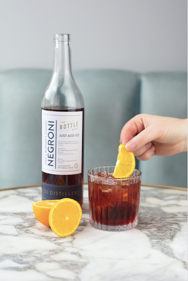 Just Add Ice Bottled Cocktails - Jake's Negroni