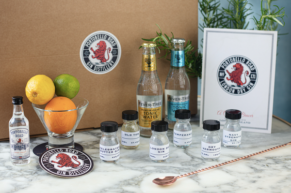 Portobello Road Gin Tasting Kit