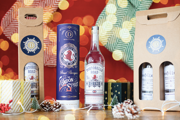 Portobello Road Gin with Bottle Gift Tube