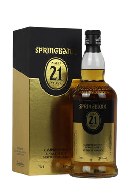 Springbank 21 Year Old 2020 Release Single Malt
