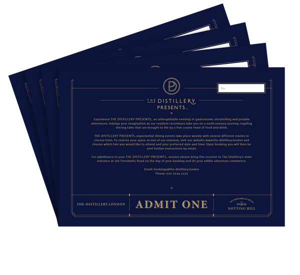The Distillery Presents... James Bond Voucher - The Distillery London