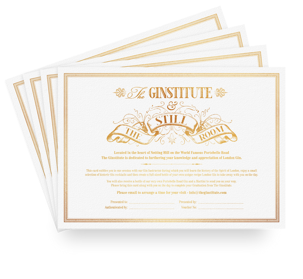 The Ginstitute Voucher - The Distillery London