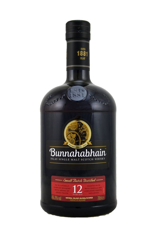 Bunnahabhain 12 year old Islay Single Malt Scotch Whisky
