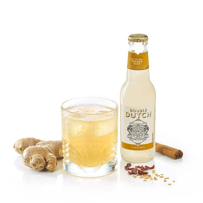 Double Dutch - Ginger Beer 200ml x12 - The Distillery London