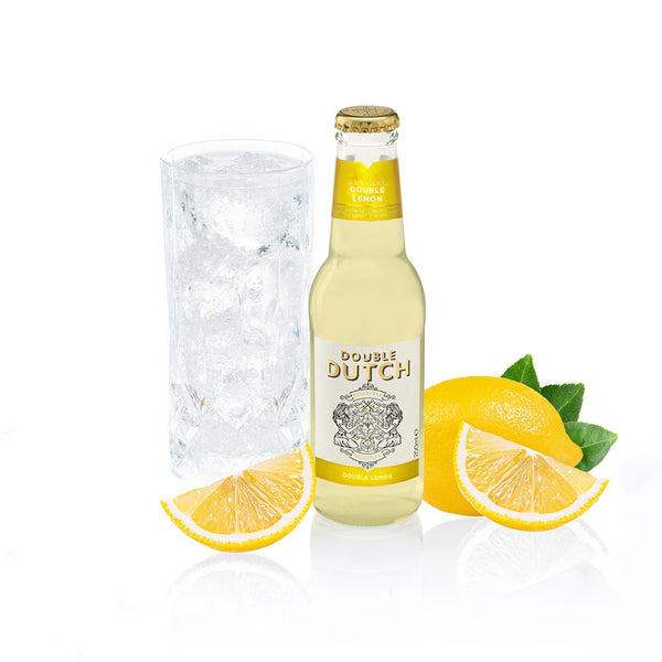 Double Dutch - Double Lemon Tonic 200ml x12 - The Distillery London