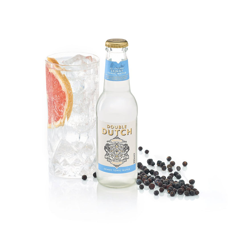 Double Dutch - Skinny Tonic 200ml x12 - The Distillery London