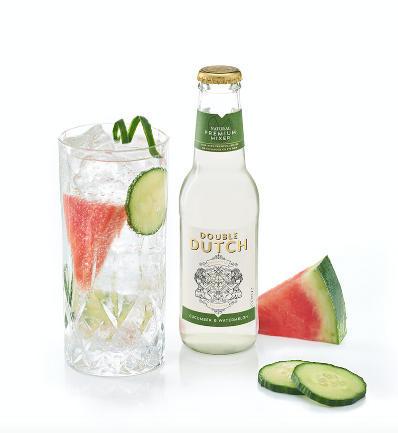 Double Dutch - Cucumber & Watermelon 200ml x12 - The Distillery London