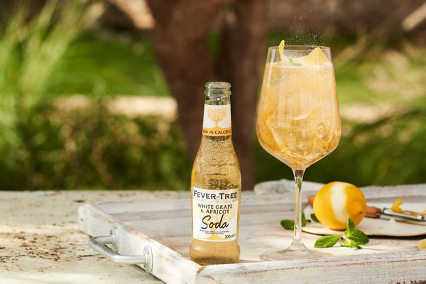 Fever-Tree White Grape & Apricot Soda 200ml x12