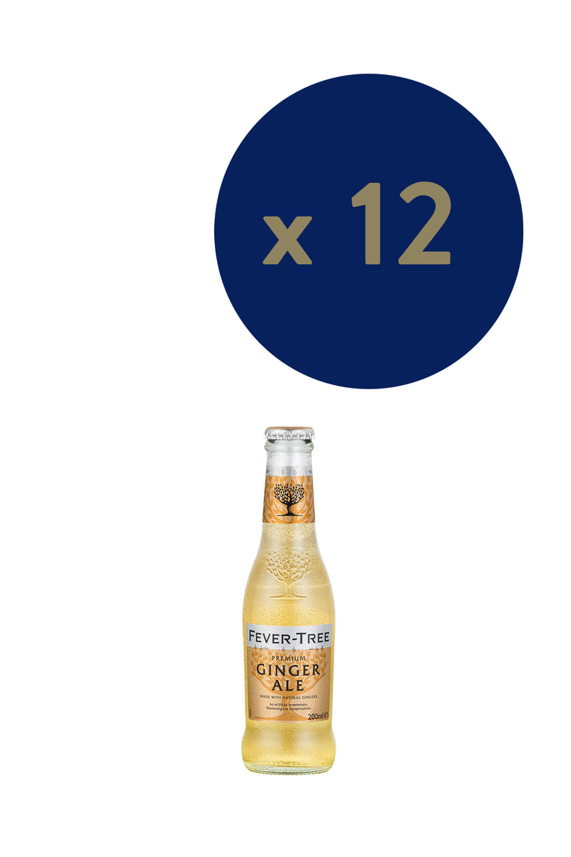 Fever-tree Premium Ginger Ale 200ml x12 - The Distillery London