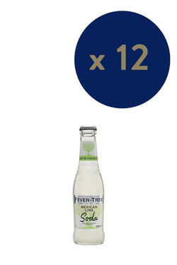 Fever-Tree Mexican Lime Soda 200ml x12