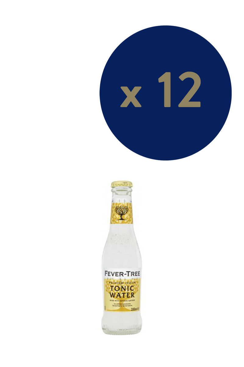 Fever-tree Premium Indian Tonic 200ml x12 - The Distillery London