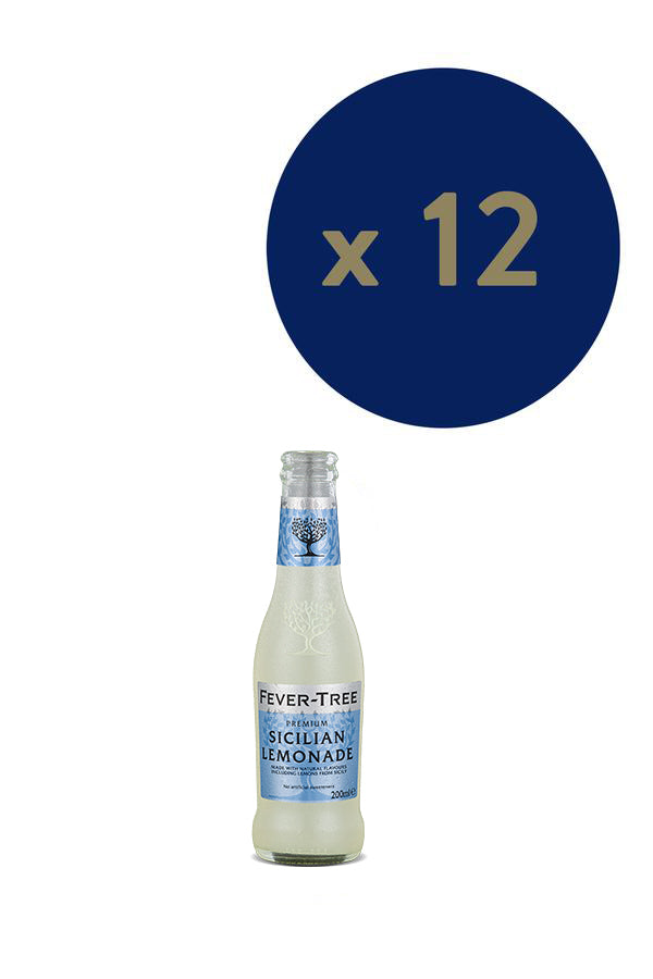 Fever-Tree Sicilian Lemonade 200ml x12