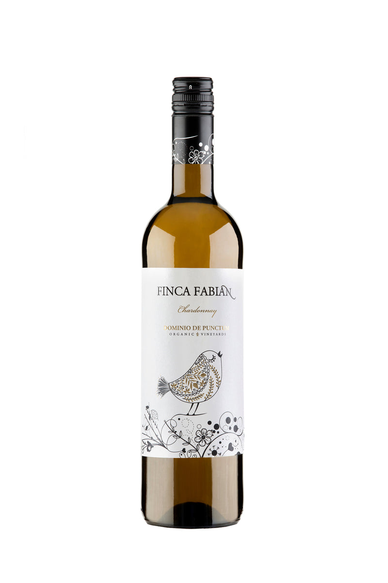 Finca Fabian, Chardonnay, Organic, Spain - Vegan - The Distillery London