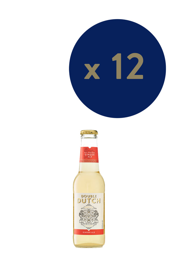 Double Dutch - Ginger Ale 200ml x12 - The Distillery London