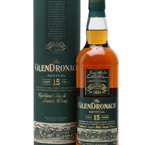 GlenDronach 15 Year Old Revival – The Distillery London