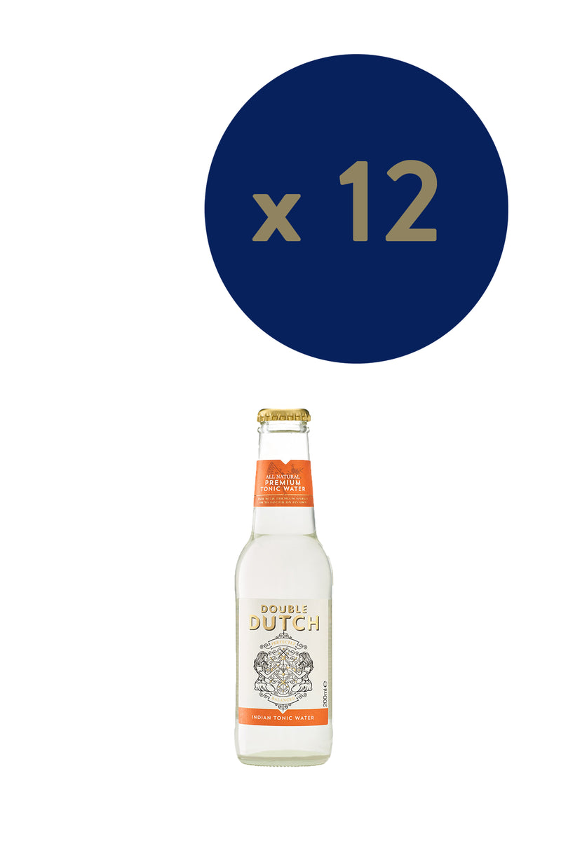 Double Dutch - Indian Tonic 200ml x12 - The Distillery London