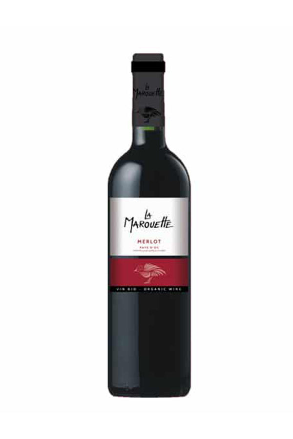 La Marouette 'Organic' Merlot, France - Vegan - The Distillery London