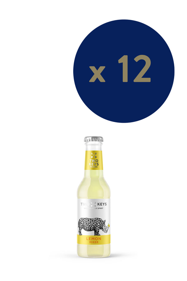 Two Keys Mixers - Lemon 200ml x12 - The Distillery London