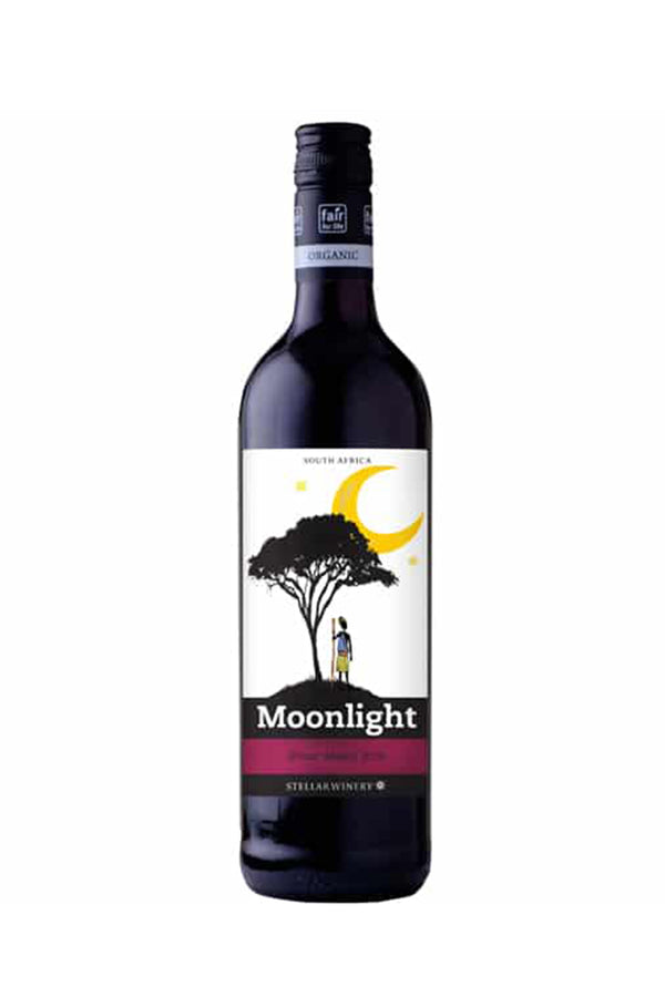 Moonlights 'Organic' Shiraz-Merlot, South Africa - Vegan