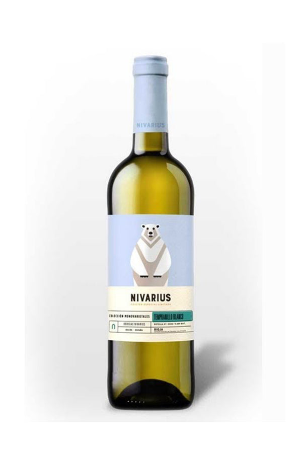 Nivarious Tempranillo Blanco, Spain - Vegan
