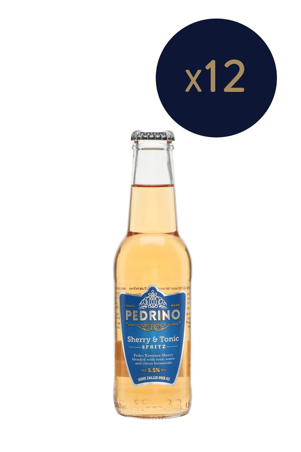 Pedrino - Sherry & Tonic Spritz 200ml x12