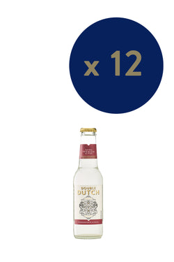 Double Dutch - Pomegranate & Basil 200ml x12 - The Distillery London
