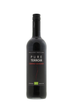Pure Terroir 'Organic' Cabernet Sauvignon, France - Vegan - The Distillery London