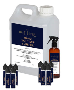 Hand Sanitiser - Fully Filled Return To Work Pack - The Distillery London