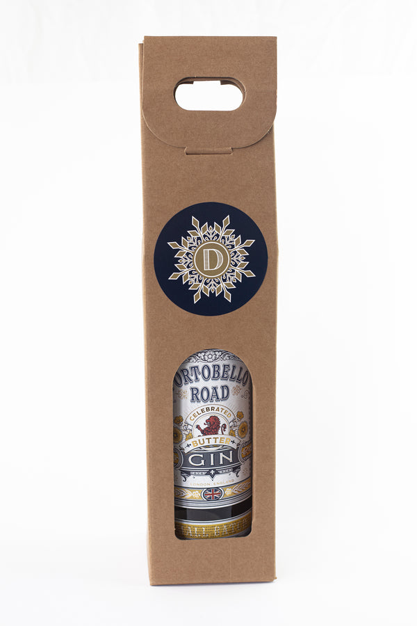 Distillery bottle gift box - single