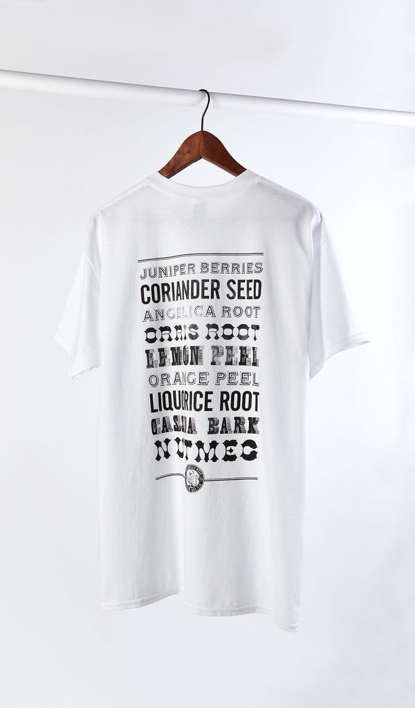 Portobello Road Merch - Botanicals Tee Shirt - The Distillery London