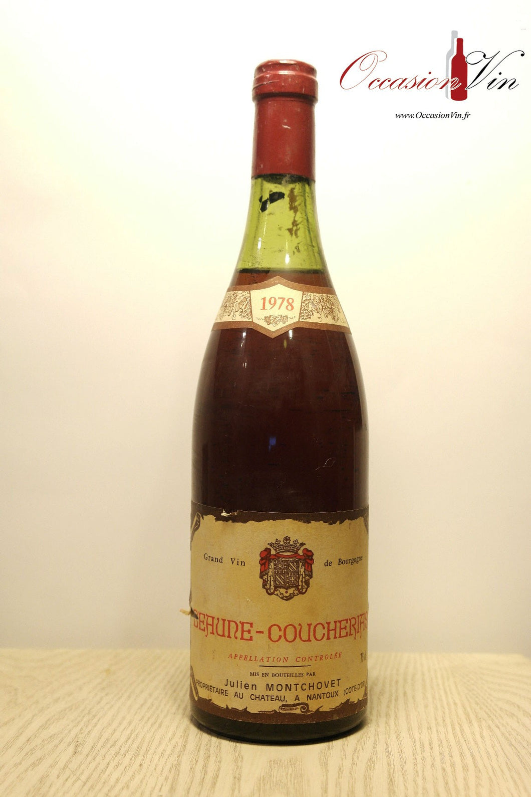 Beaune-Coucherias Montchovet Vin 1978