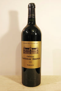 Cantenac Brown Vin 2008