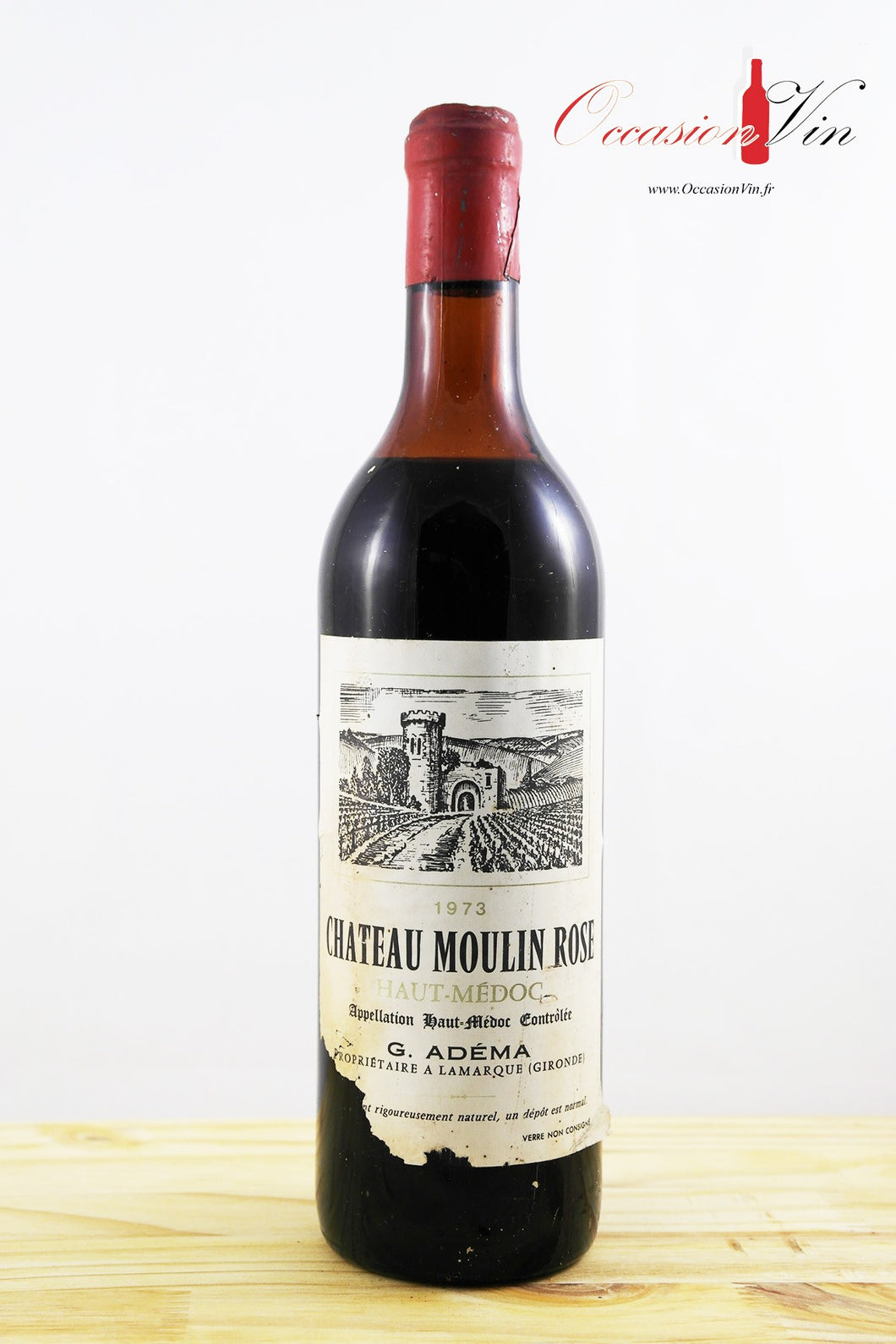 Moulin Rose Vin 1973