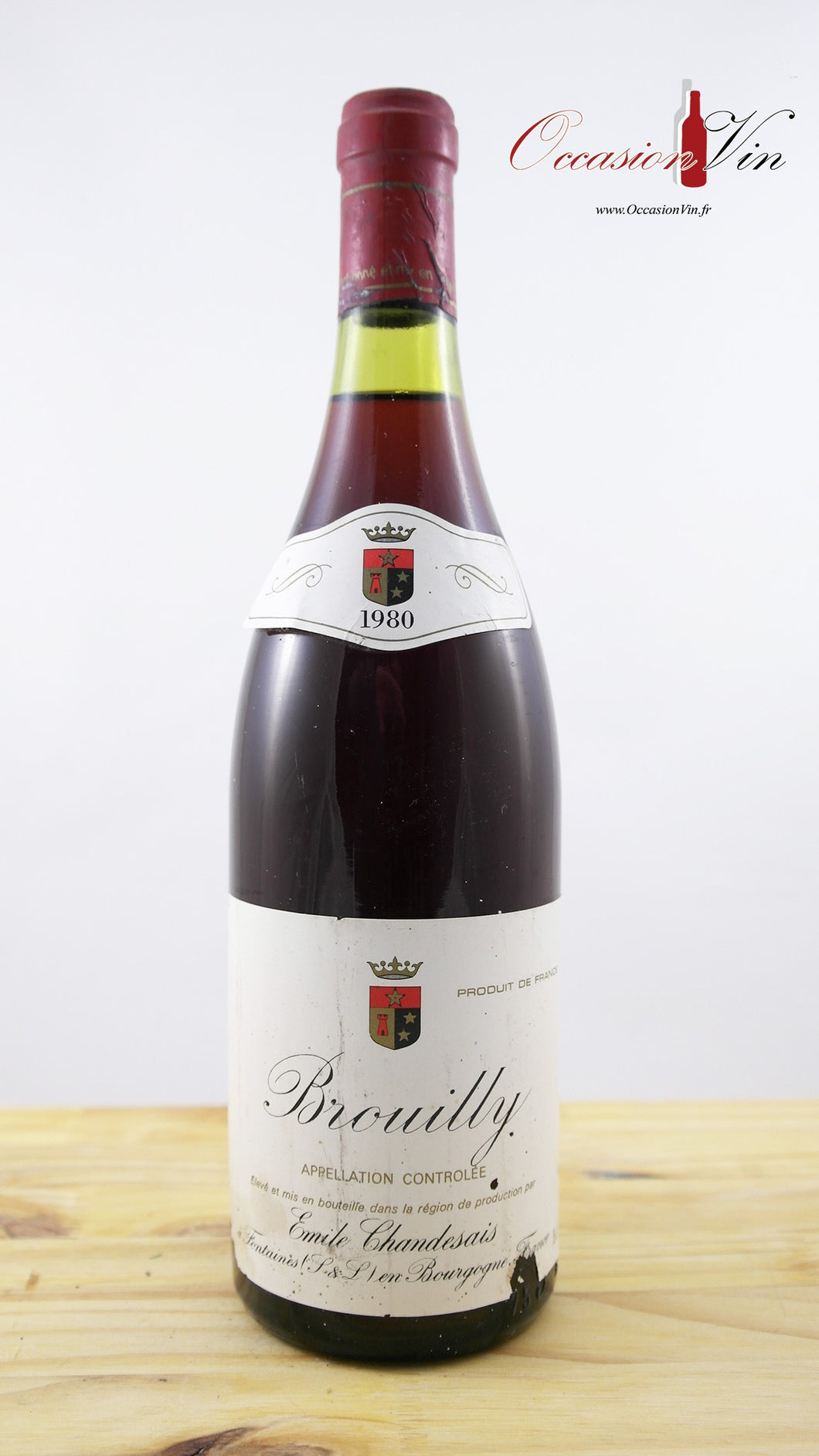 Brouilly Emilie Chandesais Vin 1980