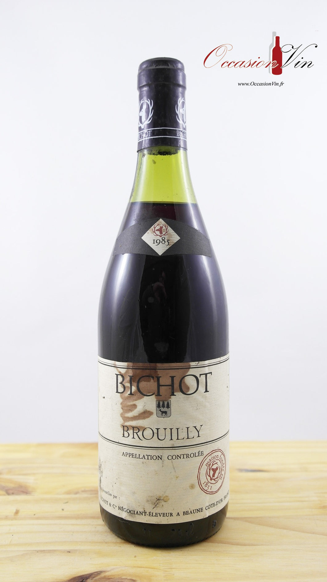 Bichot Brouilly EA Vin 1985