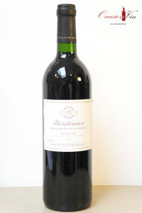 Bordeaux Baron Phillipe de Rothschild Vin 1999