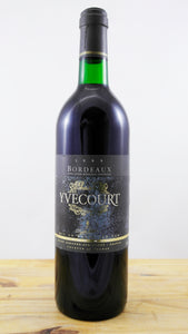 Bordeaux Yvecourt Vin 1995