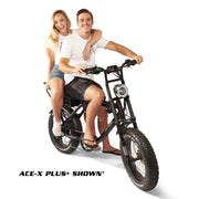 ACE Bike Dual Passenger Riding