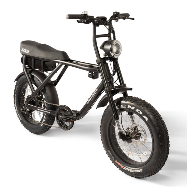 Ace Plus + Electric Bike Black
