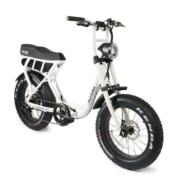ACE-S Electric Bike - White