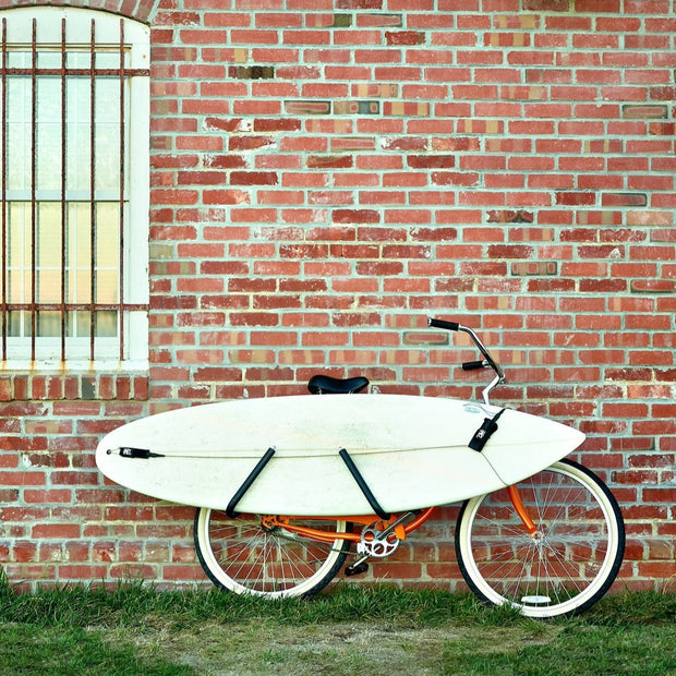 Short Surfboard Bike Rack